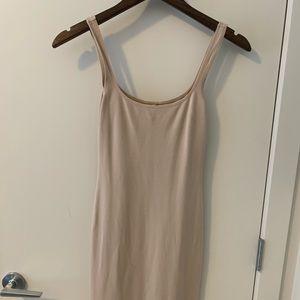 Tight Tan dress